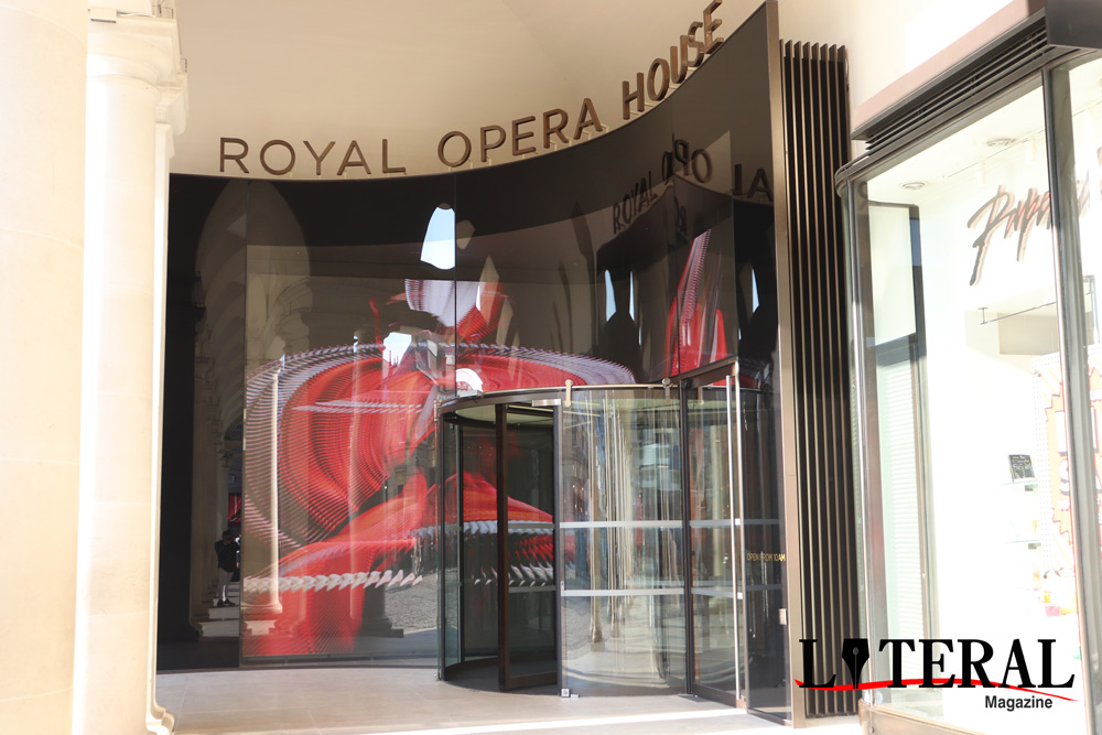 Renovación de la Royal Opera House.